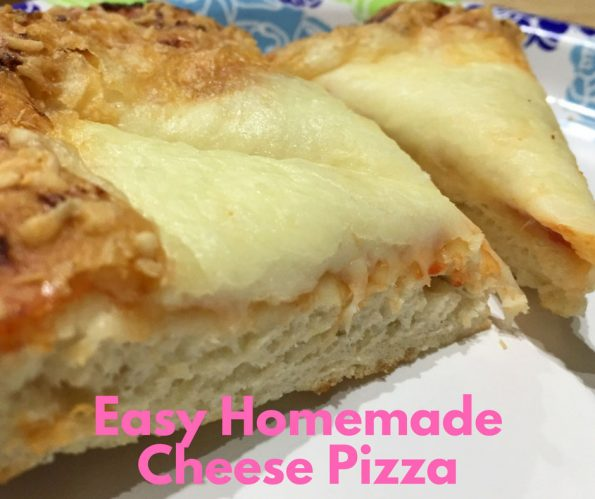 thick crust cheese pizza recipe