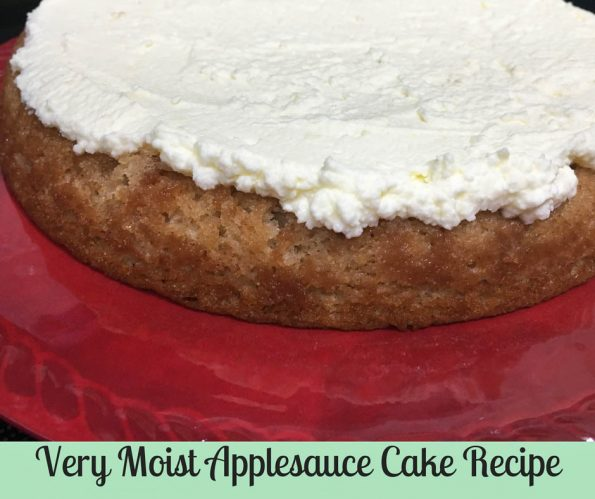 very moist applesauce cake recipe