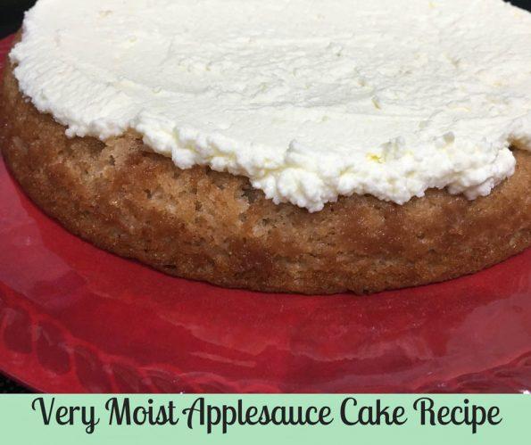 very moist applesauce cake recipe