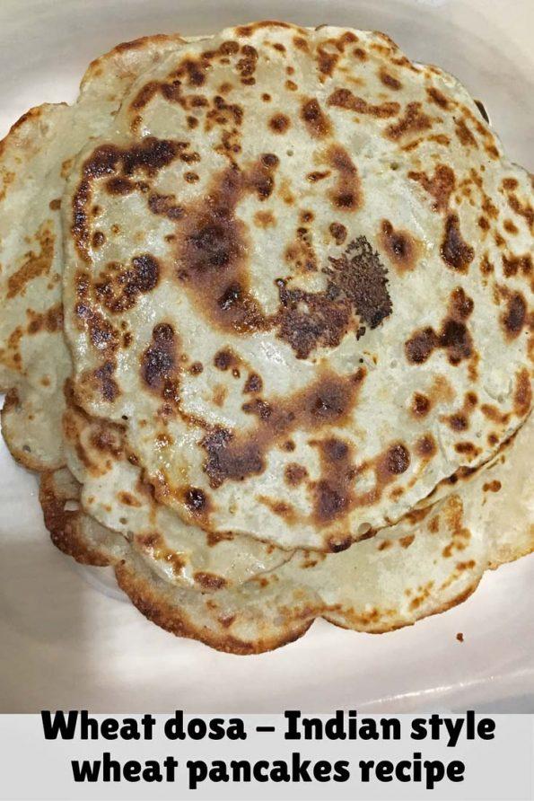 wheat dosa Kerala recipe South Indian