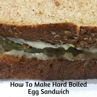 hard boiled egg sandwich recipe