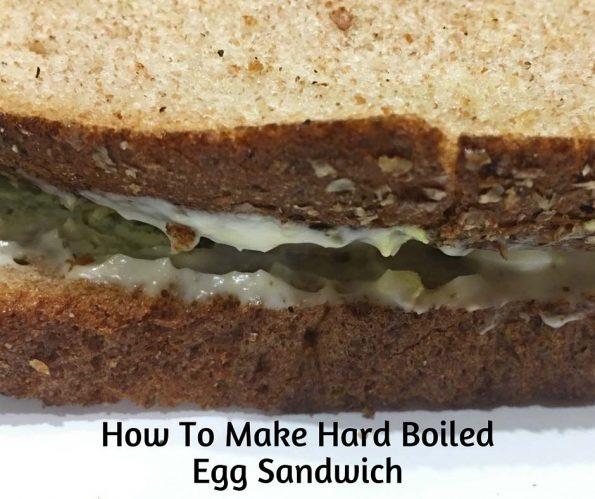 hard boiled egg sandwich recipe