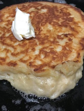 homemade banana pancake recipe from scratch