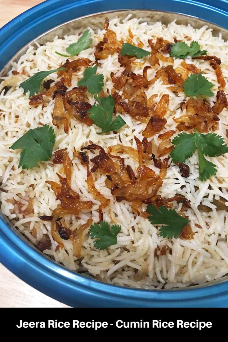 indian jeera rice recipe