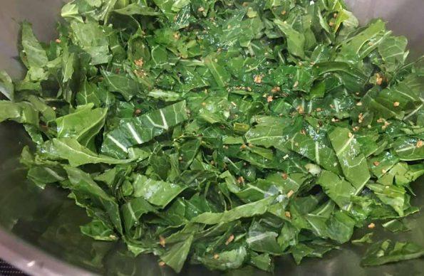 collard greens sauteed
