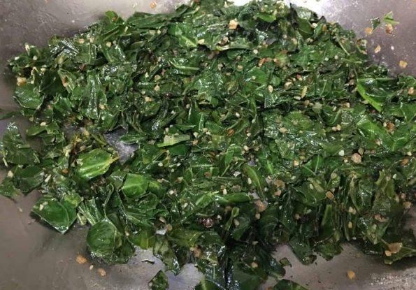 sauteed collard greens recipe
