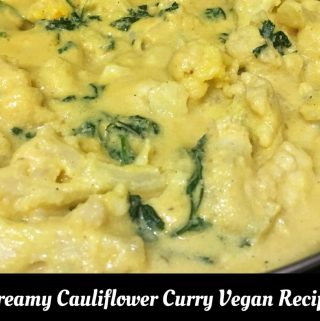 Vegan Cauliflower Curry Recipe Without Coconut Milk – How To Make Vegan Cauliflower Curry Without Coconut
