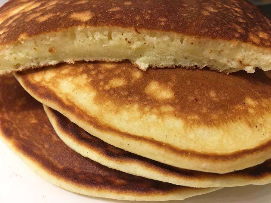 dense pancakes delicious