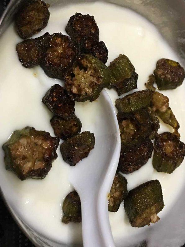 how to make vendakka pachadi without coconut