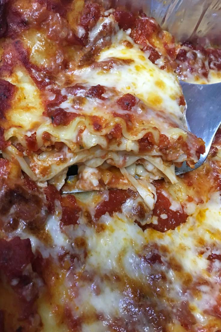 Easy Lasagna Recipe Without Ricotta Cheese No Cottage Cheese