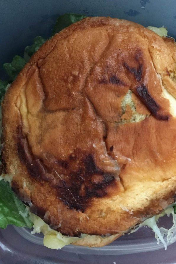 mashed potato sandwich