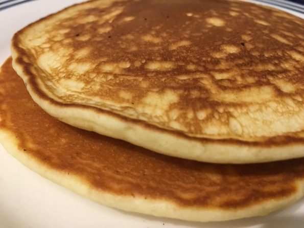 perfect pancakes without baking powder and soda