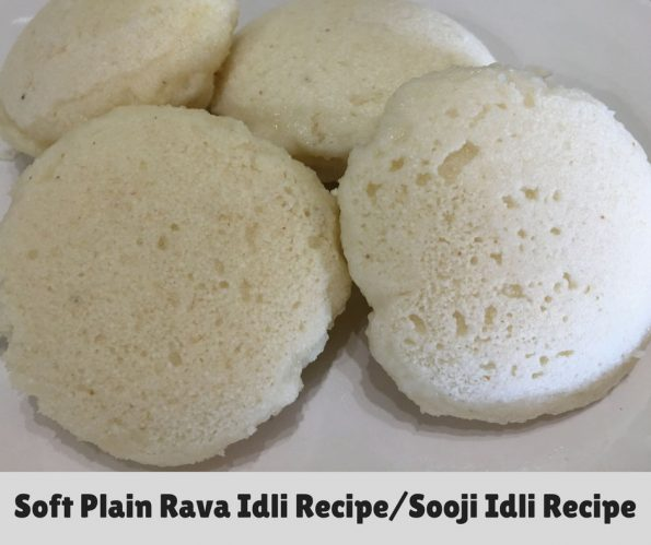 plain rava idli recipe