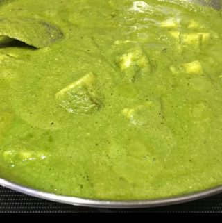 Punjabi Palak Paneer Recipe Without Cream, Onion And Tomato – Creamy Restaurant Style Palak Paneer Recipe