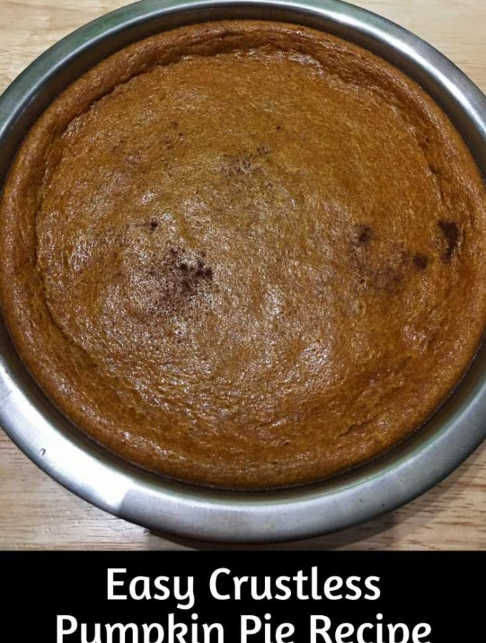 Recipe For Crustless Pumpkin Pie – Best Crustless Pumpkin Pie Recipe – Silky Smooth Pumpkin Pie Recipe