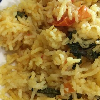 tomato rice without onion