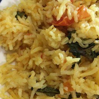 tomato rice without onion