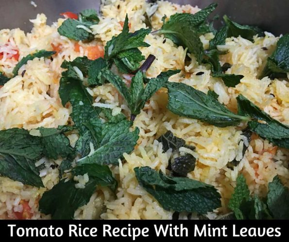 tomato rice without onion and garlic