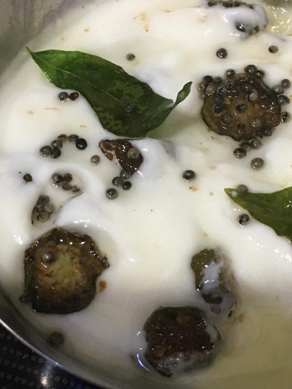 vendakka pachadi recipe kerala style