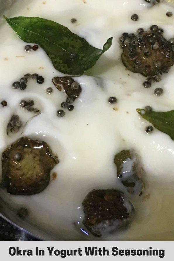 vendakka pachadi recipe without coconut
