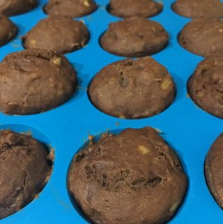 chocolate banana mini muffins recipe