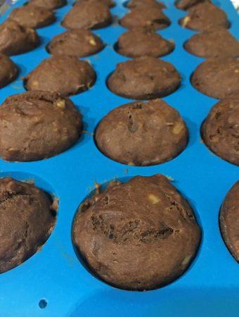 chocolate banana mini muffins recipe