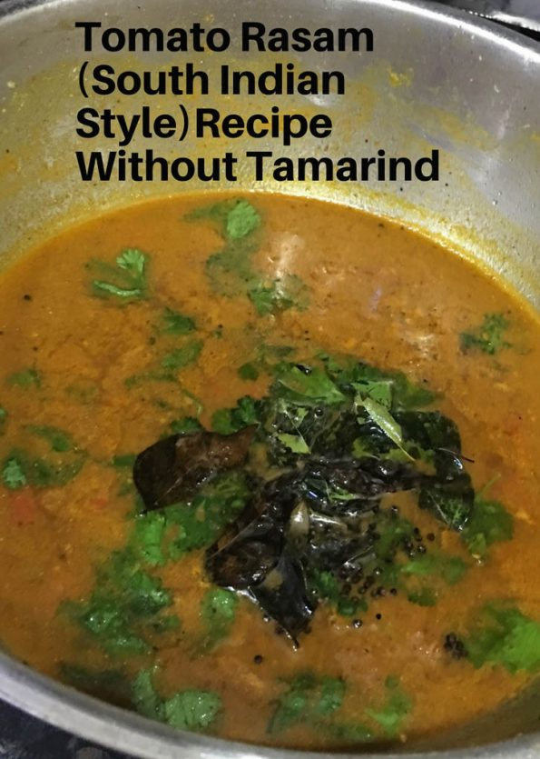 how to make rasam without tamarind