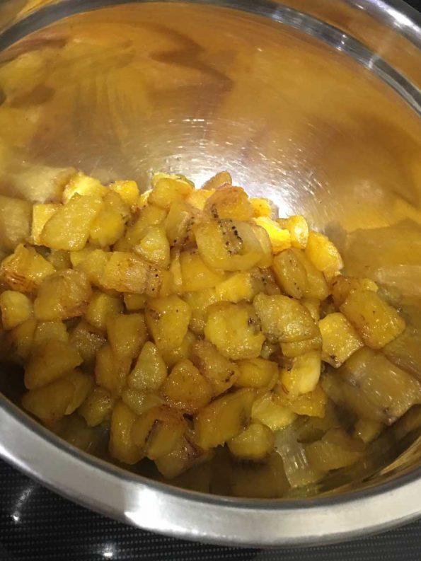 how to stir fry ripe plantains