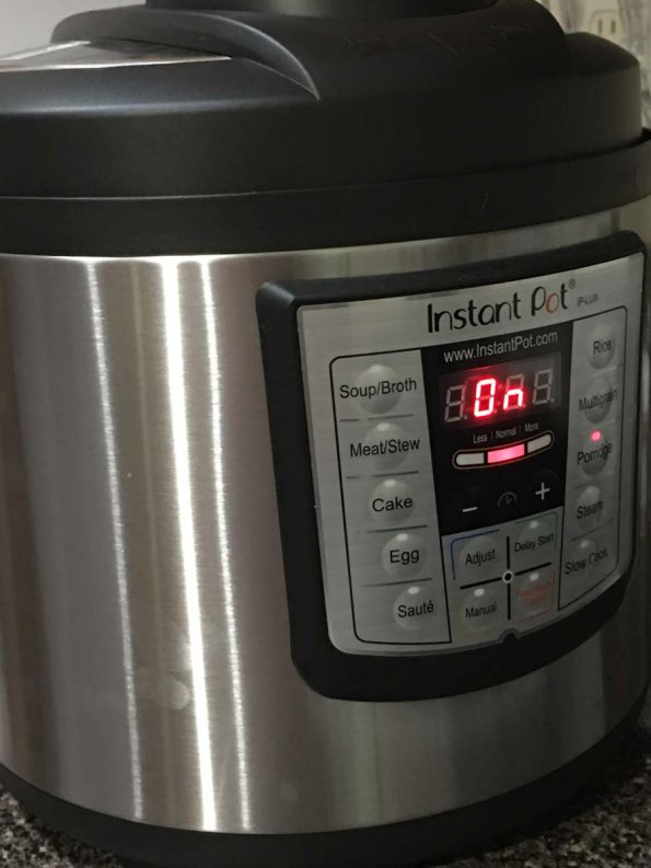 porridge setting instant pot