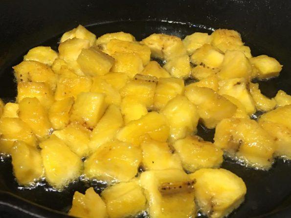 ripe plantain stir fry recipe