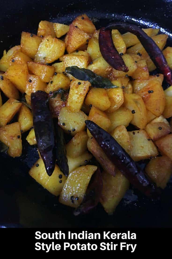 spicy potato mezhukkupuratti recipe kerala style