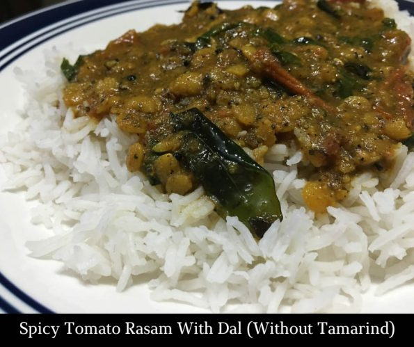 spicy tomato rasam without tamarind