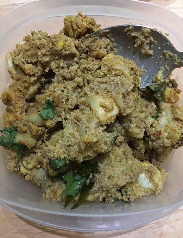 vegan cauliflower coconut curry recipe