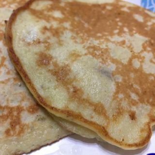 3 Ingredient Banana Pancakes Recipe Without Baking Powder, Baking Soda, Sugar Or Salt