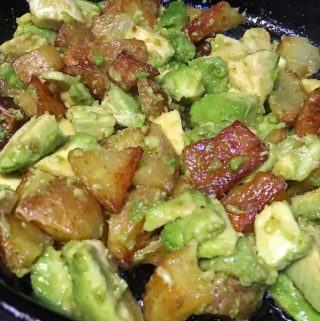 avocado and potato salad recipe