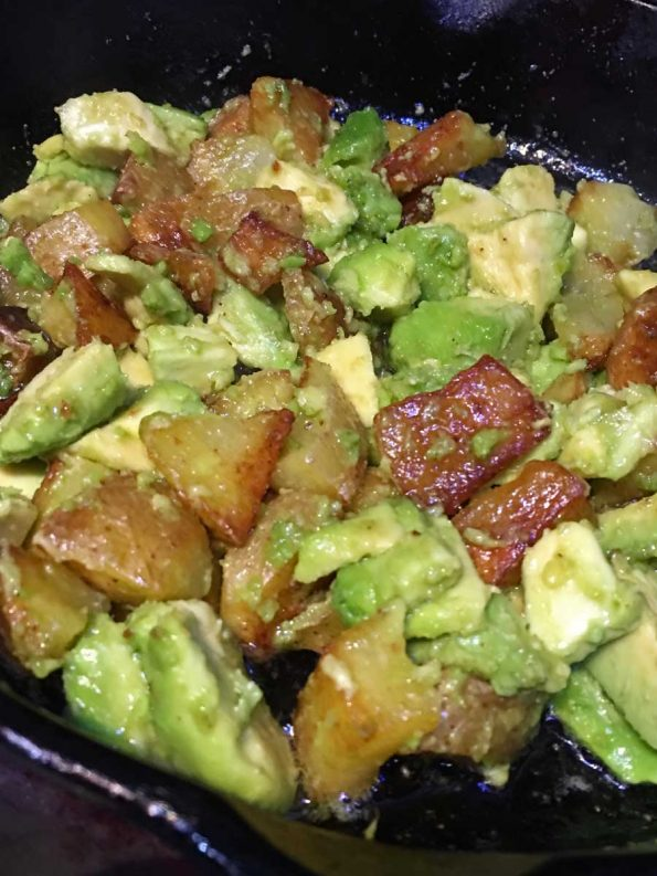 avocado and potato salad recipe
