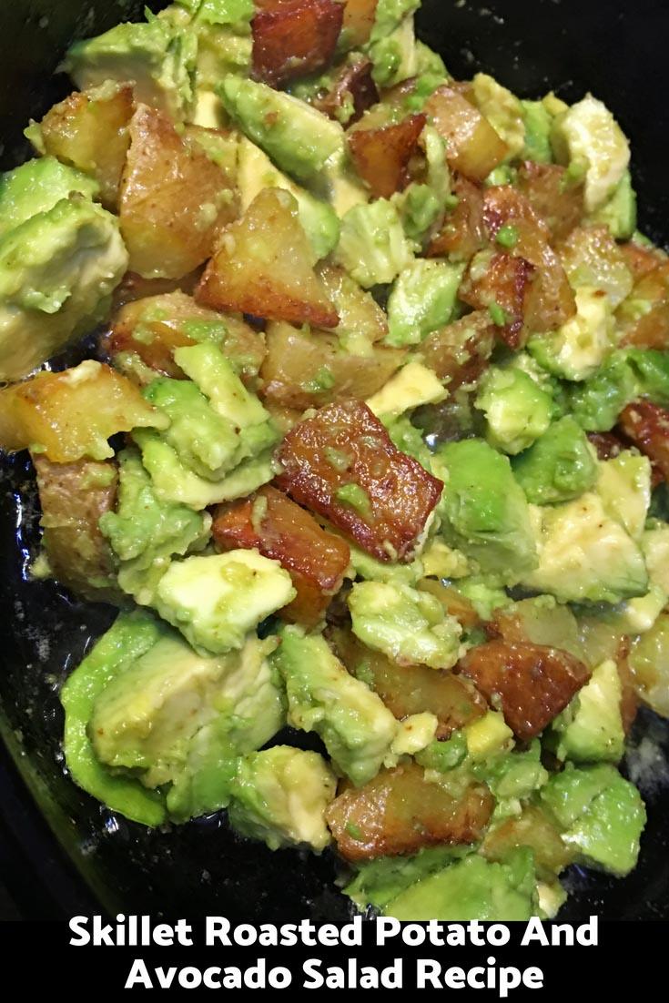 avocado potato salad recipe without mayo