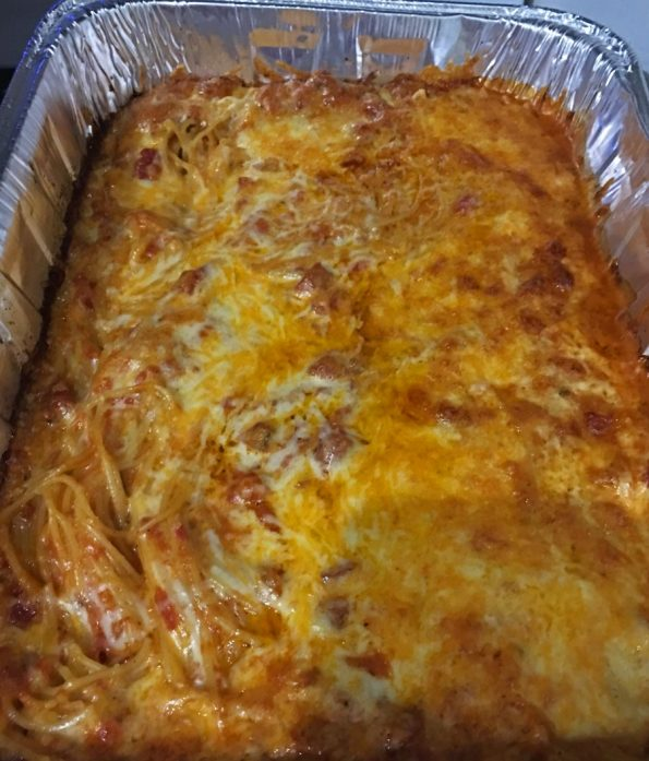 baked spaghetti recipe without boiling first