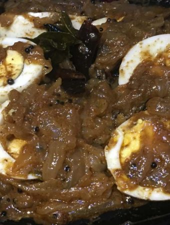 egg curry without tomatoes