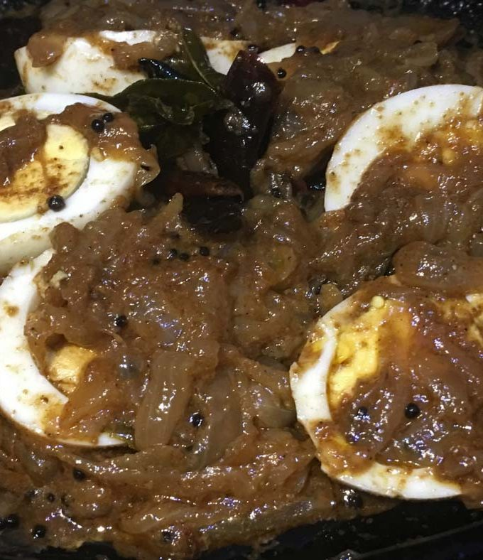 Egg Curry Without Tomatoes – Onion And Egg Gravy Recipe – Egg Masala Without Tomatoes
