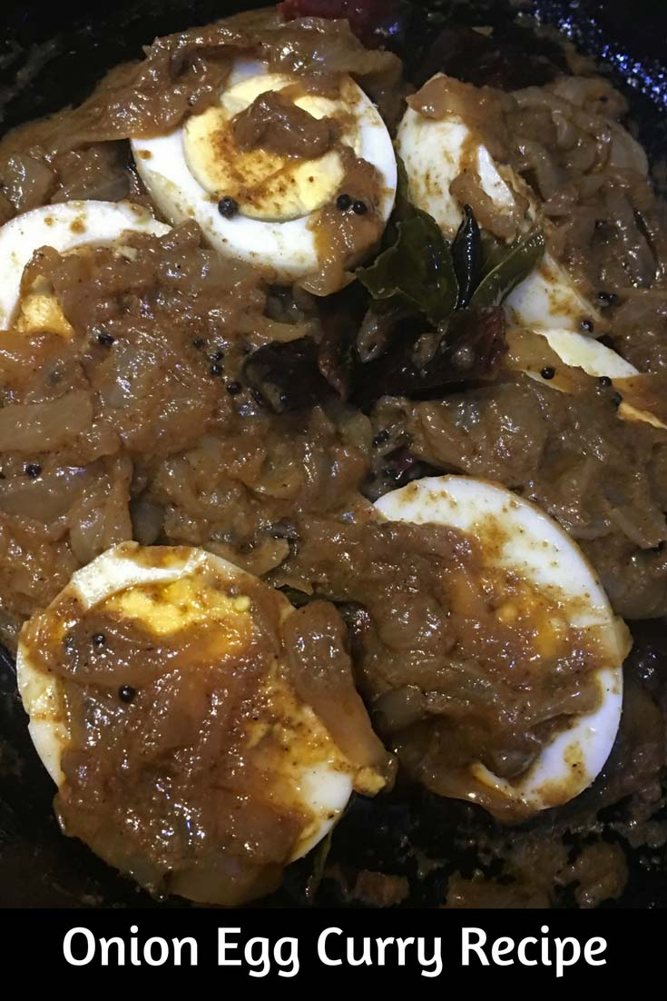 egg curry without tomatoes recipe