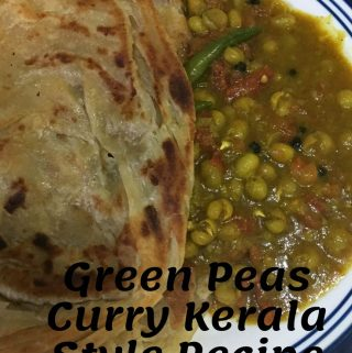 Green Peas Curry Without Coconut Or Onions – Green Peas Masala Gravy With Tomatoes