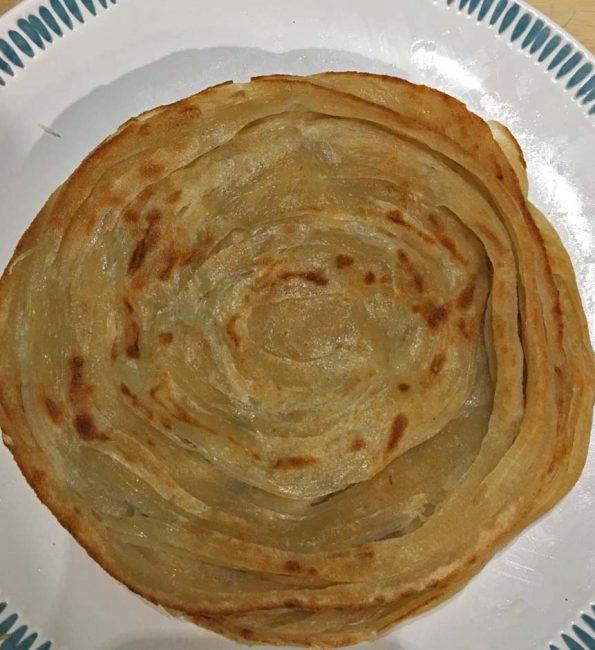 how to make kerala parotta without eggs