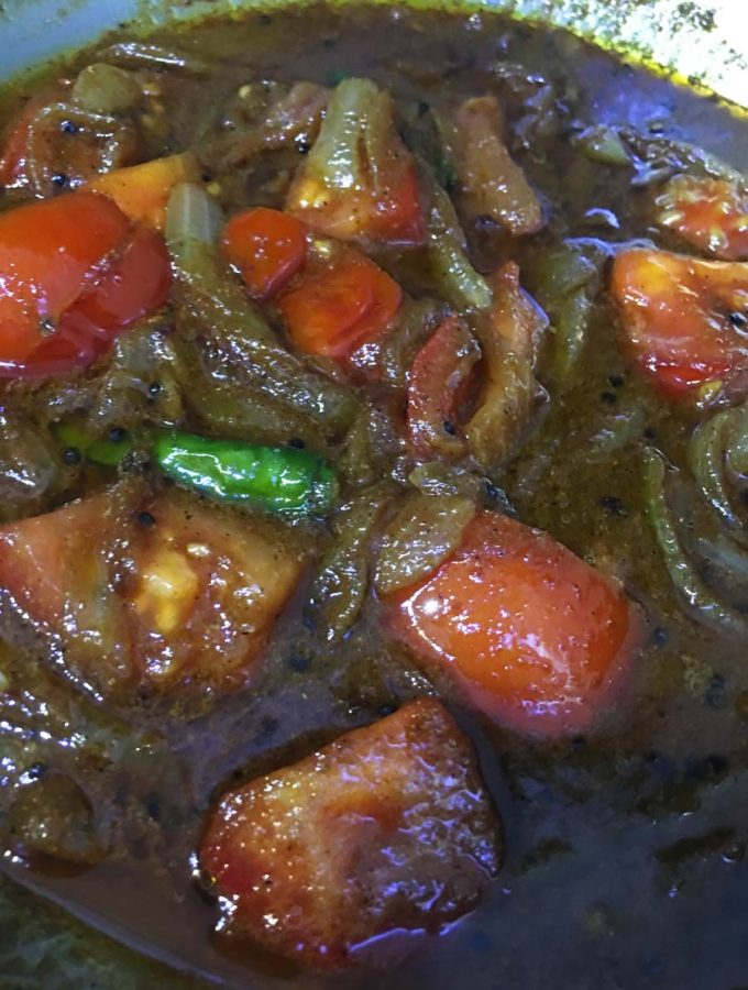 Spicy Tomato Curry Recipe – Spicy Tomato Masala – Spicy Tomato Fry With Gravy