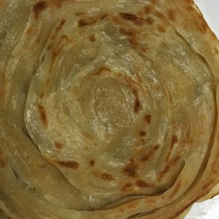 Kerala Parotta Recipe (Malabar Kerala Style Paratha/Porotta Recipe) Without Eggs – South Indian Layered Flatbread Recipe
