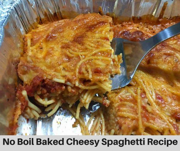 no boil spaghetti bake