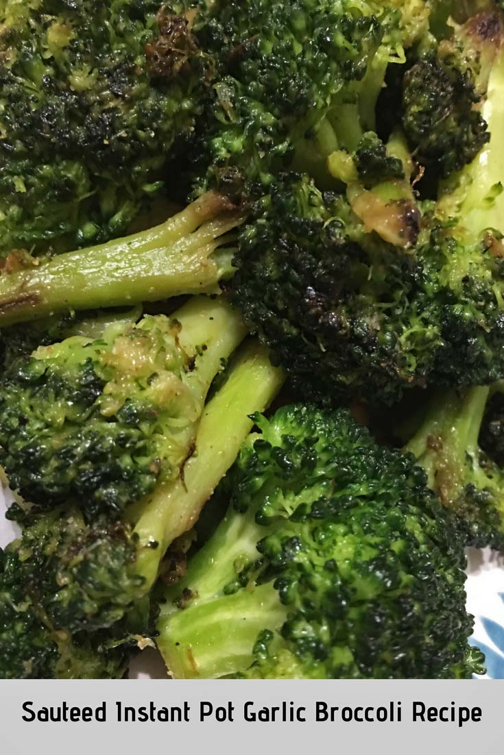 sauteed instant pot broccoli recipe