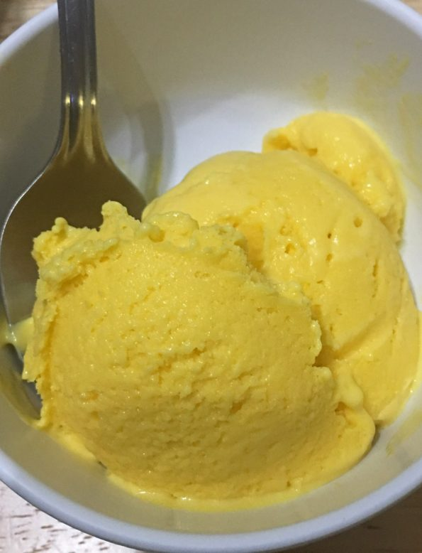 best homemade mango ice cream recipe