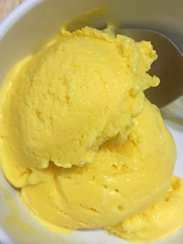 homemade mango ice cream recipe with cream cheese