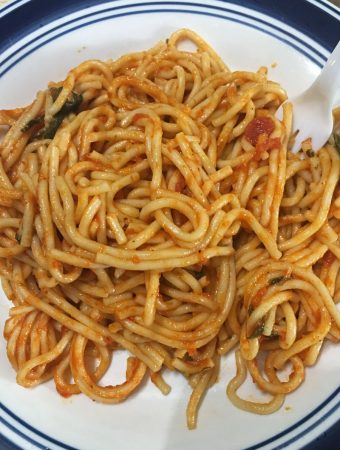 how to make instant pot spaghetti recipe